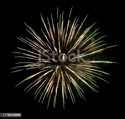 1086534384 istock photo Beautiful Firework in the sky, celebration and new year concept 1178346985