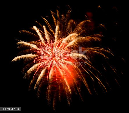 1086534384 istock photo Beautiful Firework in the sky, celebration and new year concept 1178347130