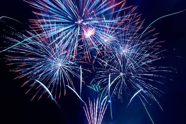 Schönes Feuerwerk – Foto