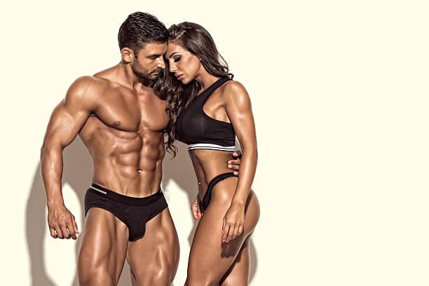 Cтоковое фото Beautiful Fit Couple