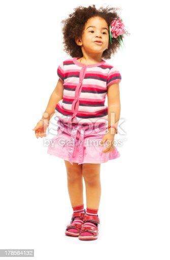 istock Beautiful five years old girl 178564132