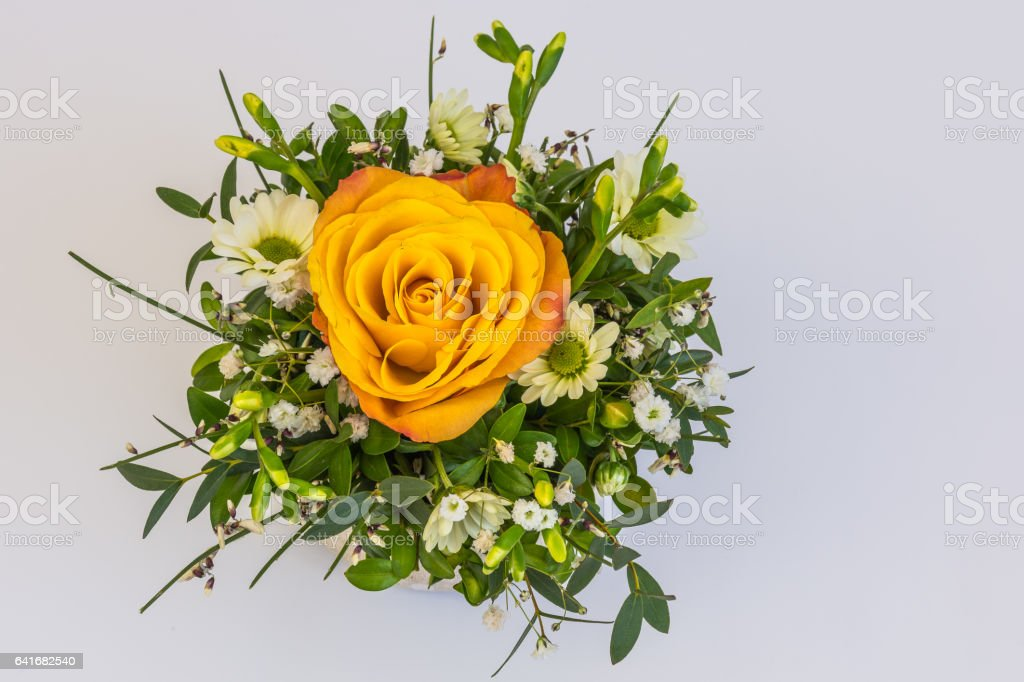 Beautiful floral decorations royalty-free stock photo