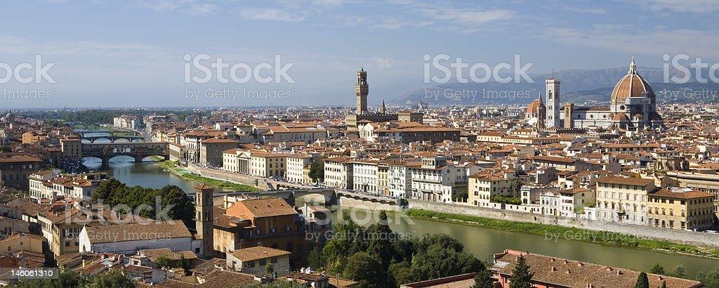 Beautiful Florence royalty-free stock photo