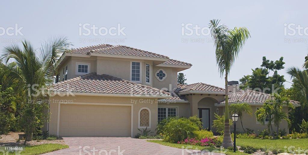 Beautiful Florida House royalty-free stock photo