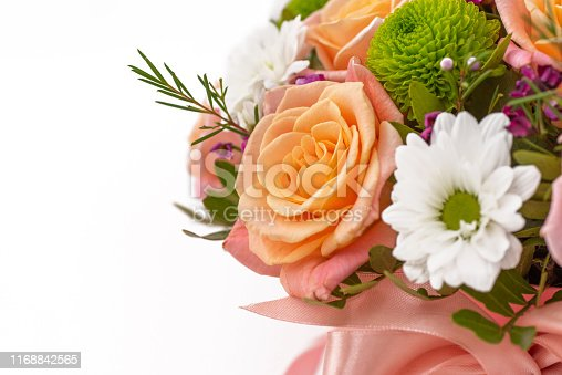 Beautiful bouquet , isolated on white background