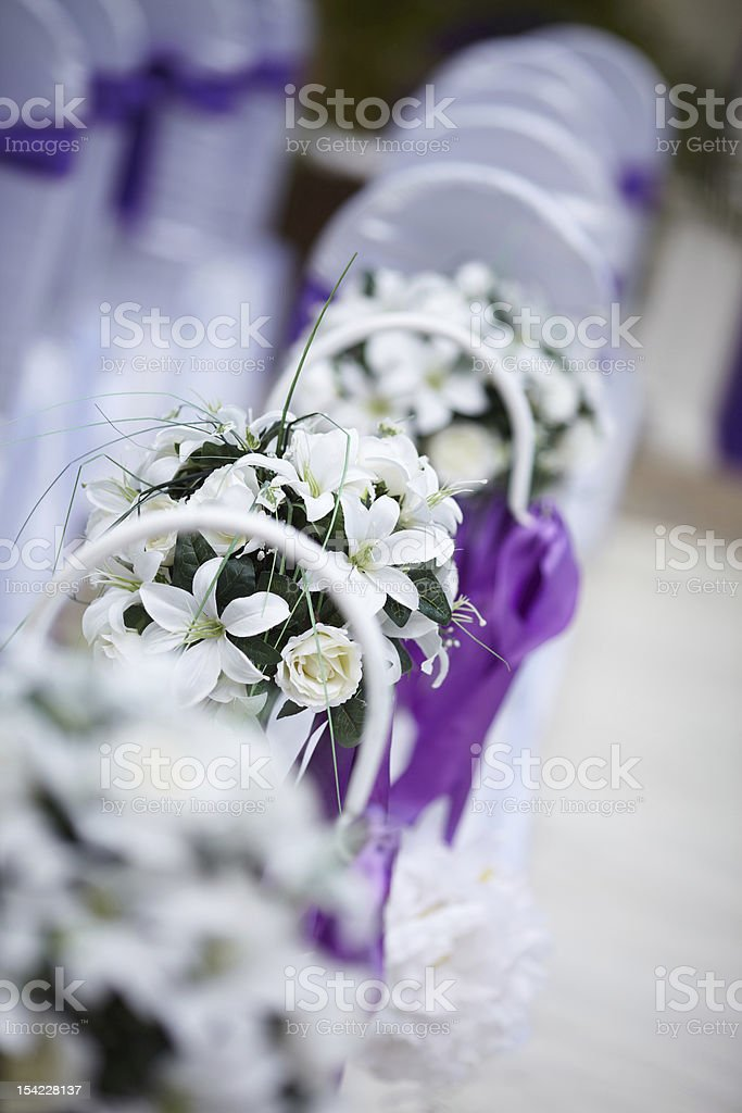 Beautiful flower wedding royalty-free stock photo