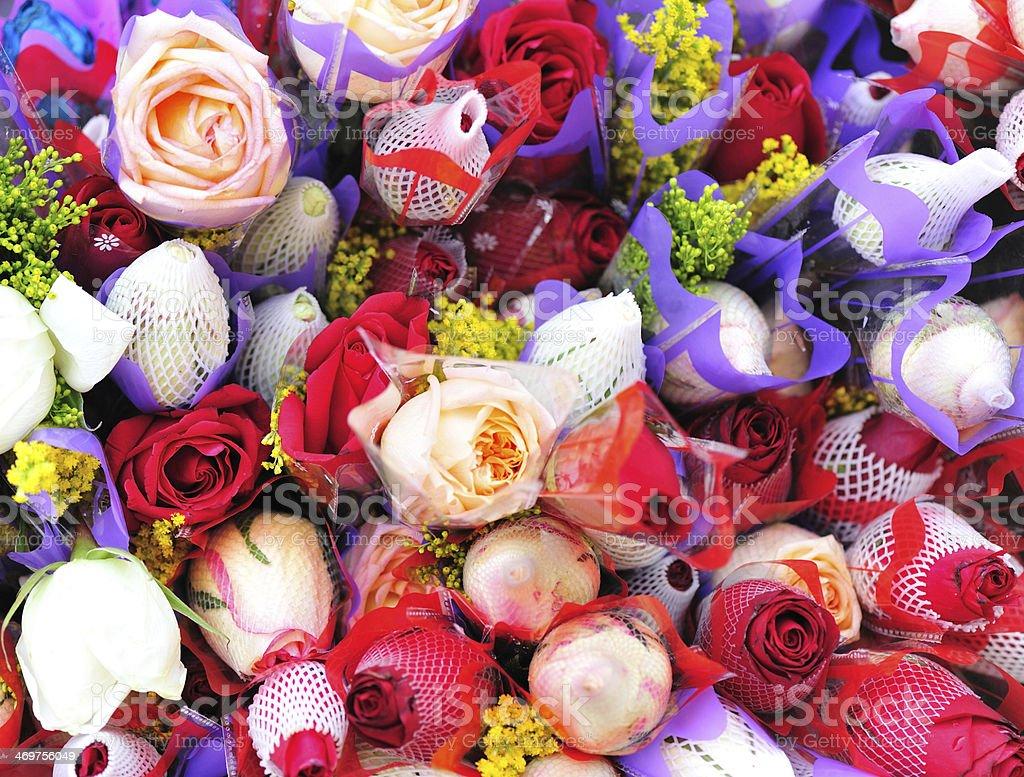 Beautiful flowers royalty-free stock photo