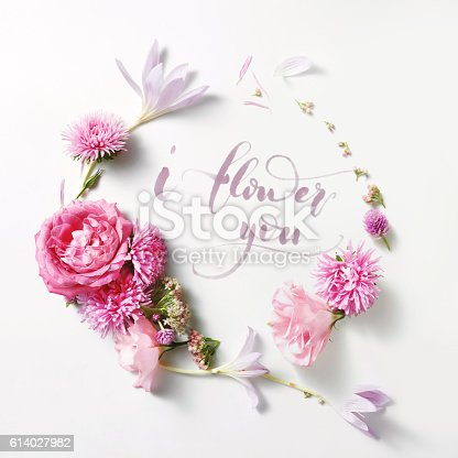 istock beautiful frame of roses in vintage style 614027982
