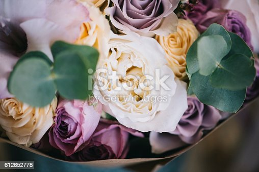 istock Beautiful fresh flower bouquet 612652778
