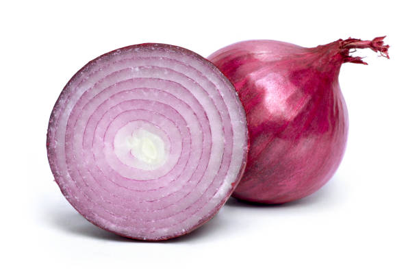 Beautiful fresh red onions, group of objects or cooking ingredients Beautiful fresh red onions, group of objects or cooking ingredients, isolated on white background. red onions stock pictures, royalty-free photos & images