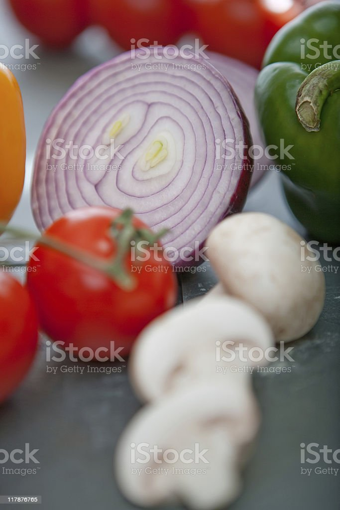 Beautiful fresh vegetables royalty-free stock photo