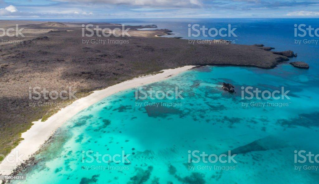 Beautiful galapagos island royalty-free stock photo