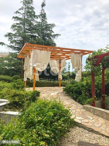 Beautiful garden gazebo