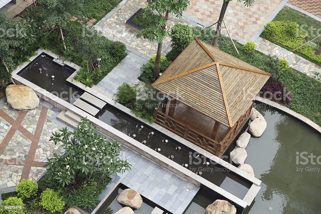 Beautiful garden royalty-free stock photo