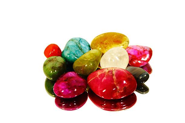 Beautiful Gem Stones stock photo