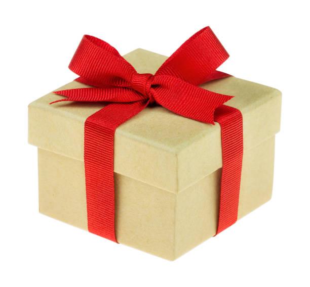 schönes geschenk isoliert auf weiss - kostenlose webseite stock-fotos und bilder