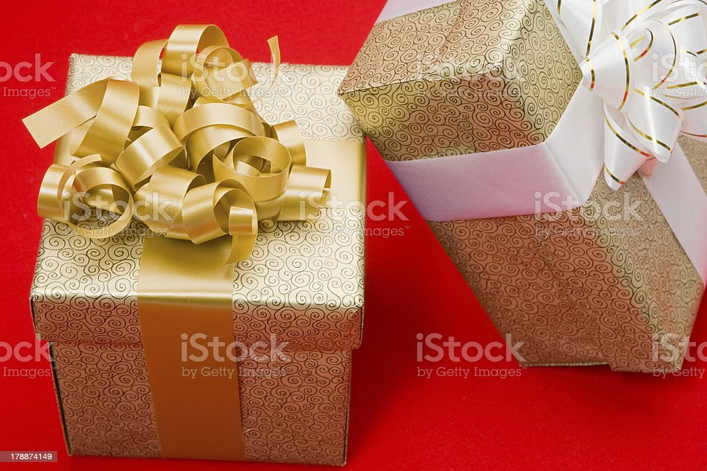 Beautiful gifts royalty-free stock photo