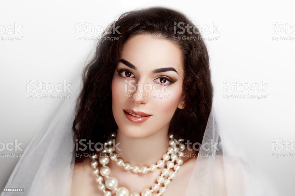 beautiful girl face woman stock photo