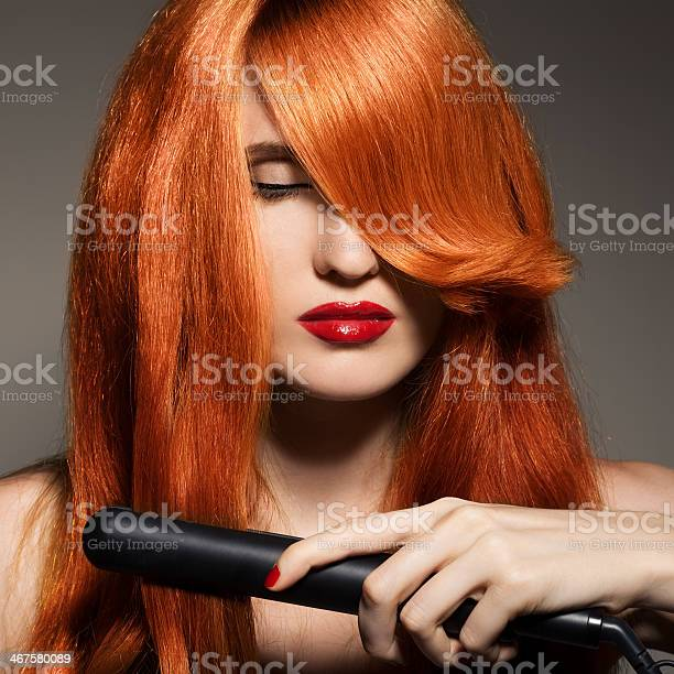 Beautiful Girl Healthy Long Hair Stock Photo - Download Image Now