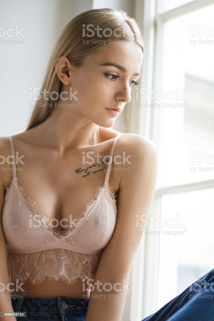 Top Young Woman Showing Off Her Fit Body Pictures Images And Stock Photos