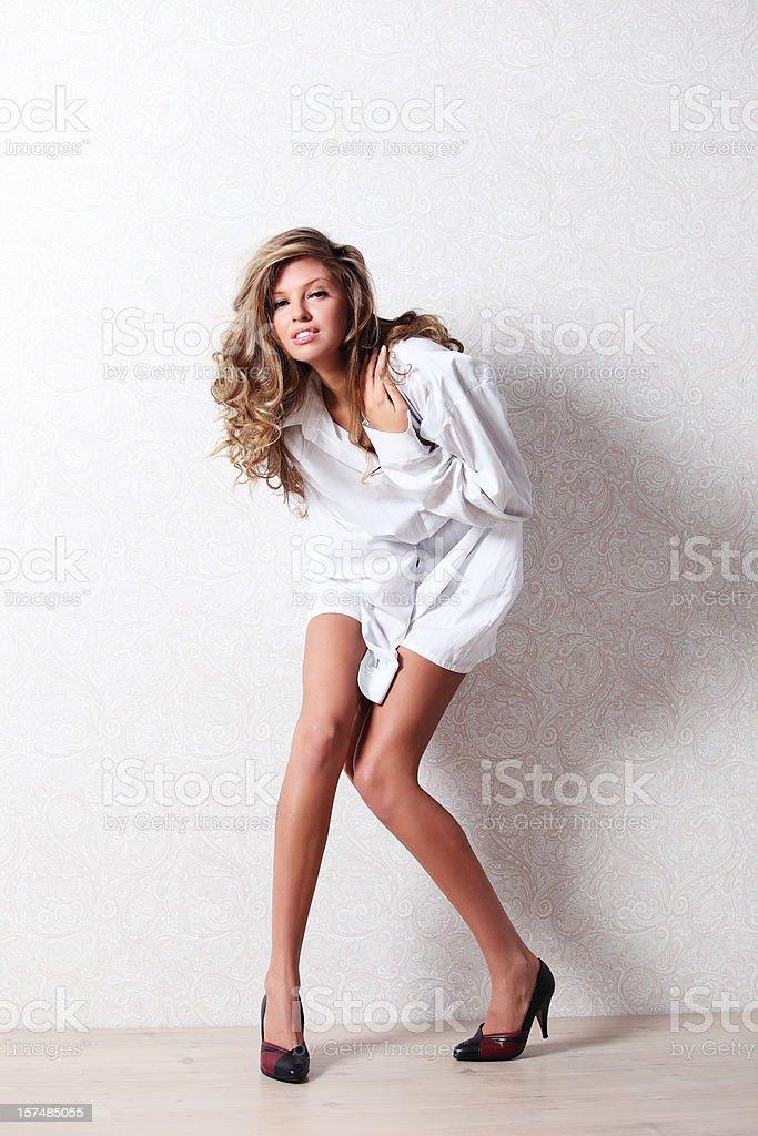 Beautiful girl! royalty-free stock photo