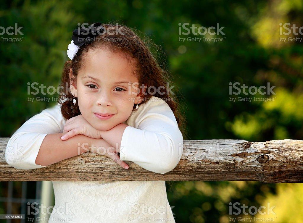 Hermosa chica - foto de stock