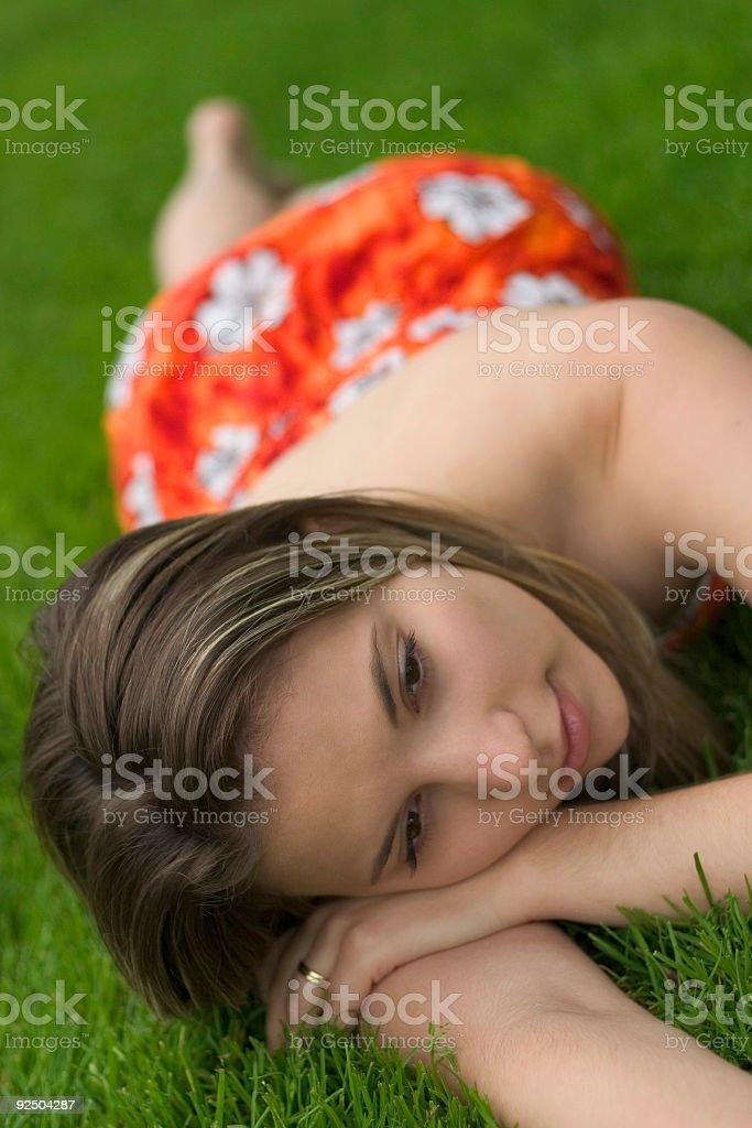 Beautiful Girl royalty-free stock photo