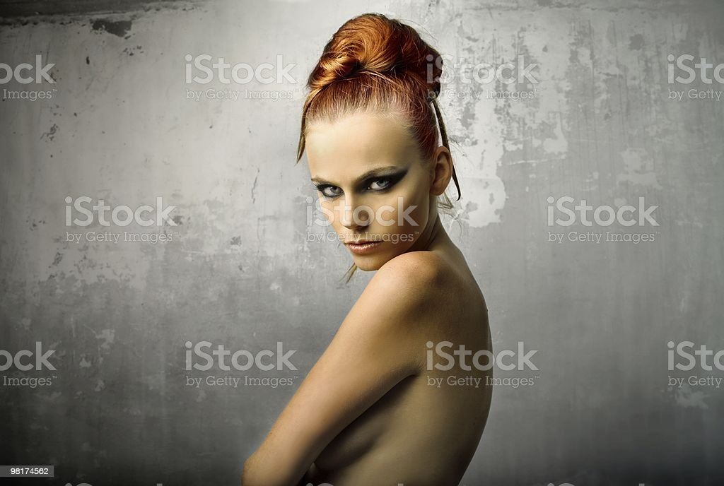 beautiful girl royalty-free stock photo