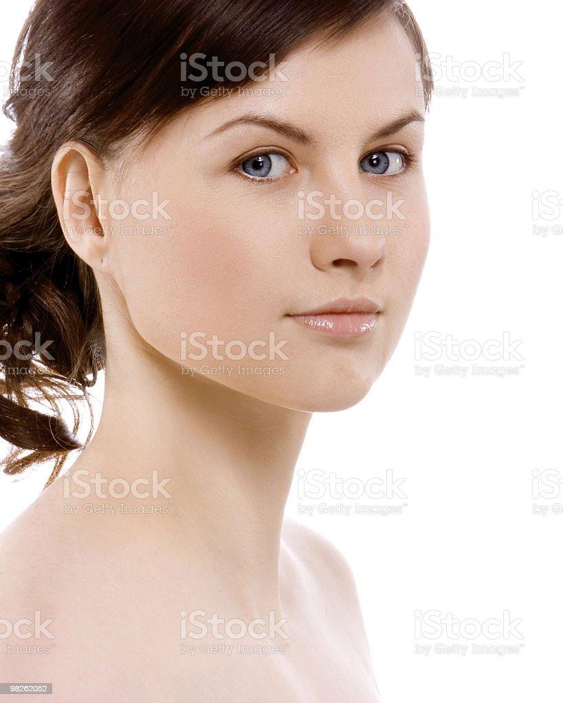 아름다운 소녀 royalty-free 스톡 사진