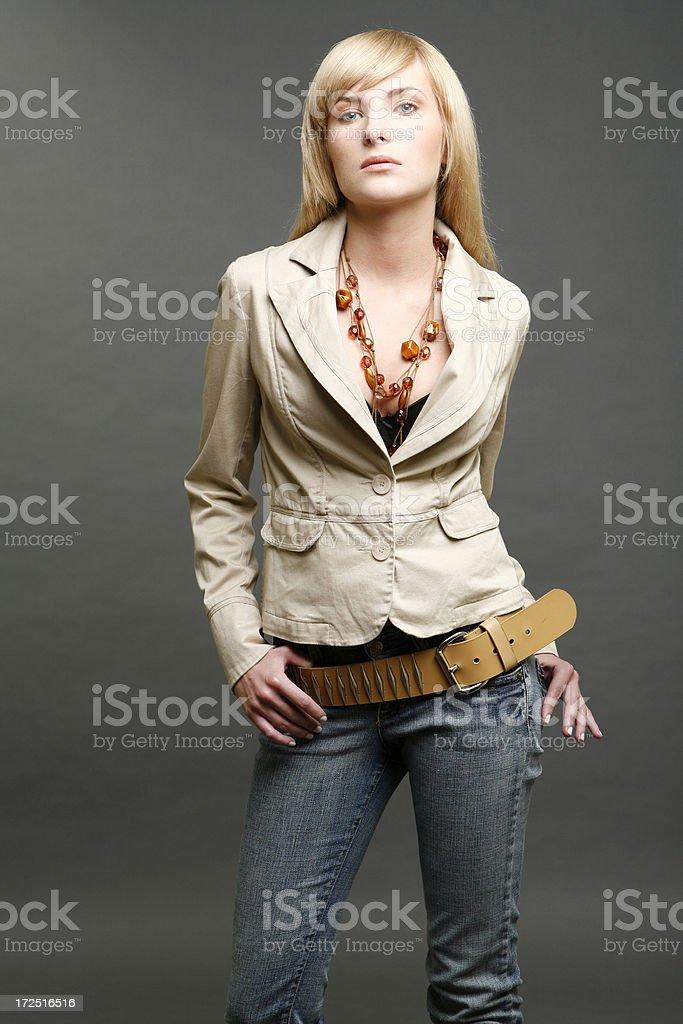 beautiful girl portrait royalty-free stock photo