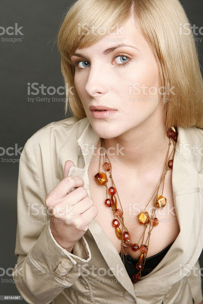 beautiful girl portrait royalty-free stock photo