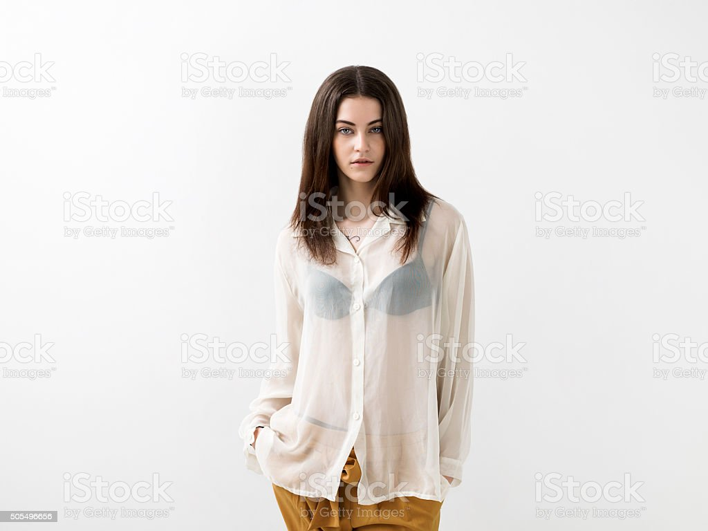 Royalty Free See Through Blouse Pictures Images And Stock Photos