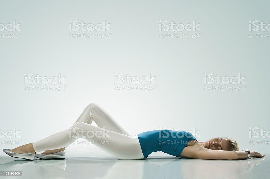 Schöne Mädchen Schlafen – Foto