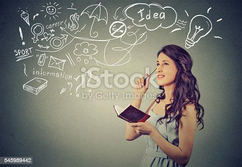 istock beautiful girl thinking planning 545989442