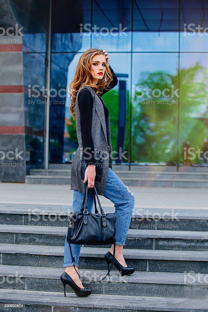 6e2aa7f819bf Bella Ragazza Con Makeup - Fotografie stock e altre immagini di ...