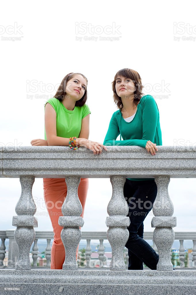 beautiful girls royalty-free stock photo