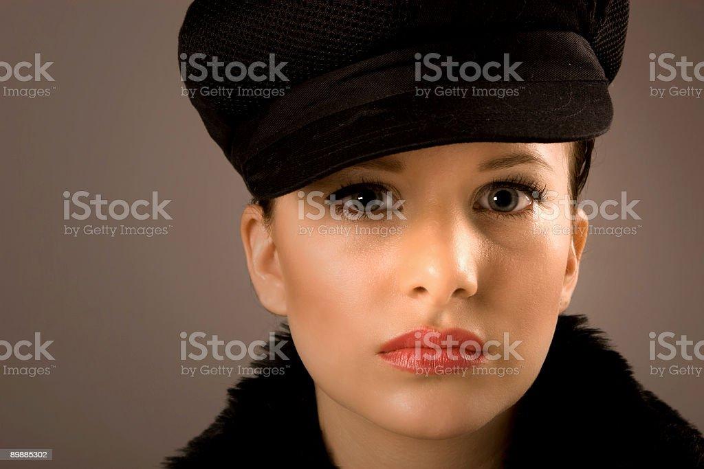 beautiful glamour girl royalty-free stock photo
