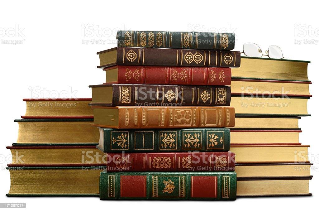 Beautiful Golden Books royalty-free stock photo