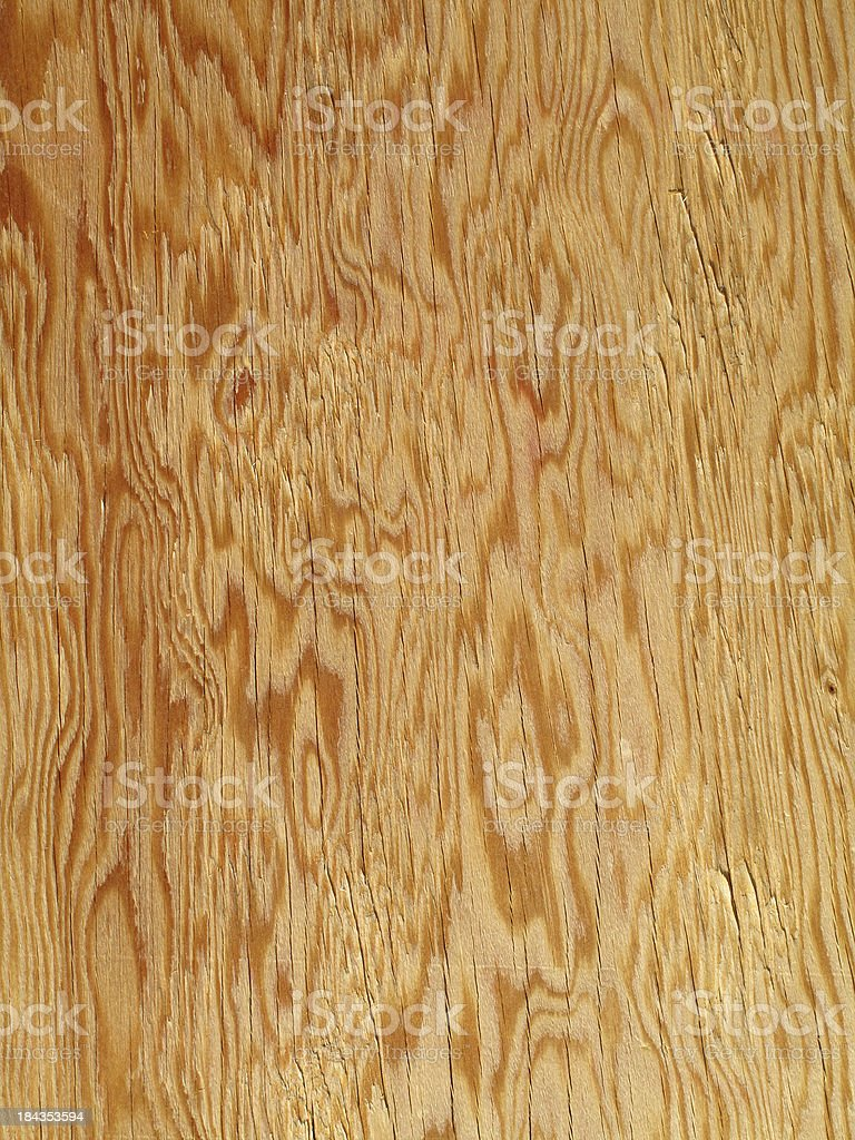 Beautiful golden brown plywood floor background stock photo