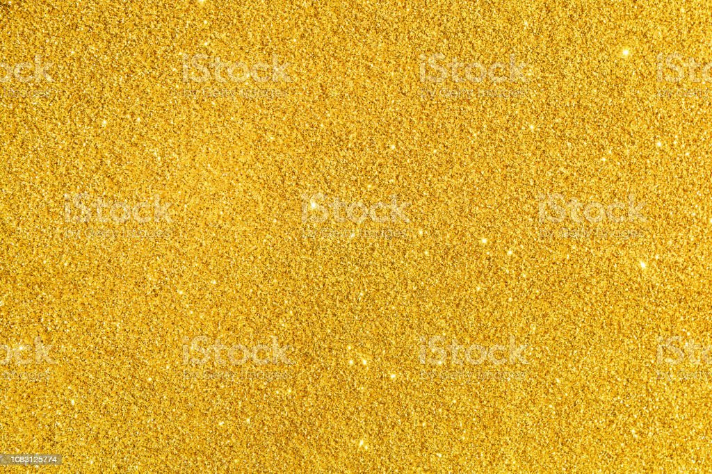 Beautiful Golden festive background. Shiny with stars abstract for...