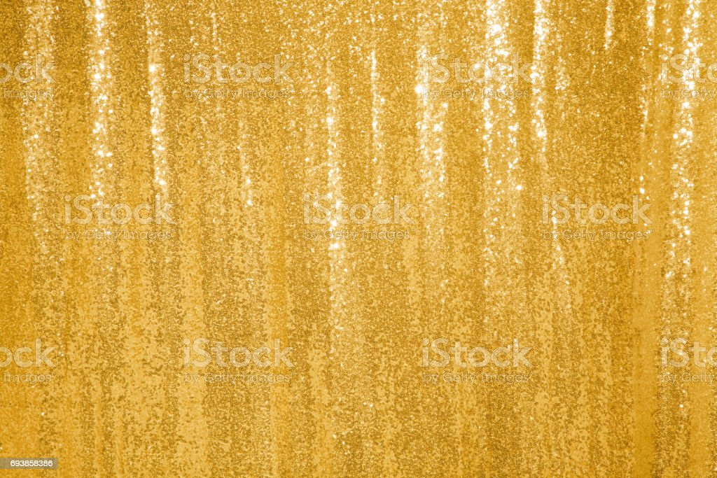 Beautiful golden glitter background stock photo