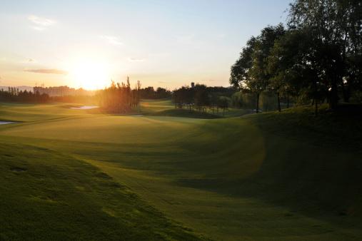 Beautiful Golf Course - XLarge