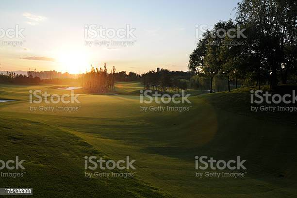 Beautiful Golf Course Xlarge Stock Photo - Download Image Now