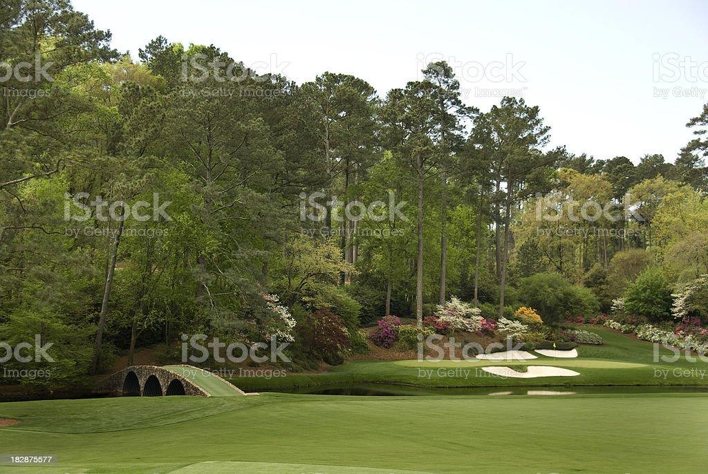 Beautiful Golf Courses bildbanksfoto