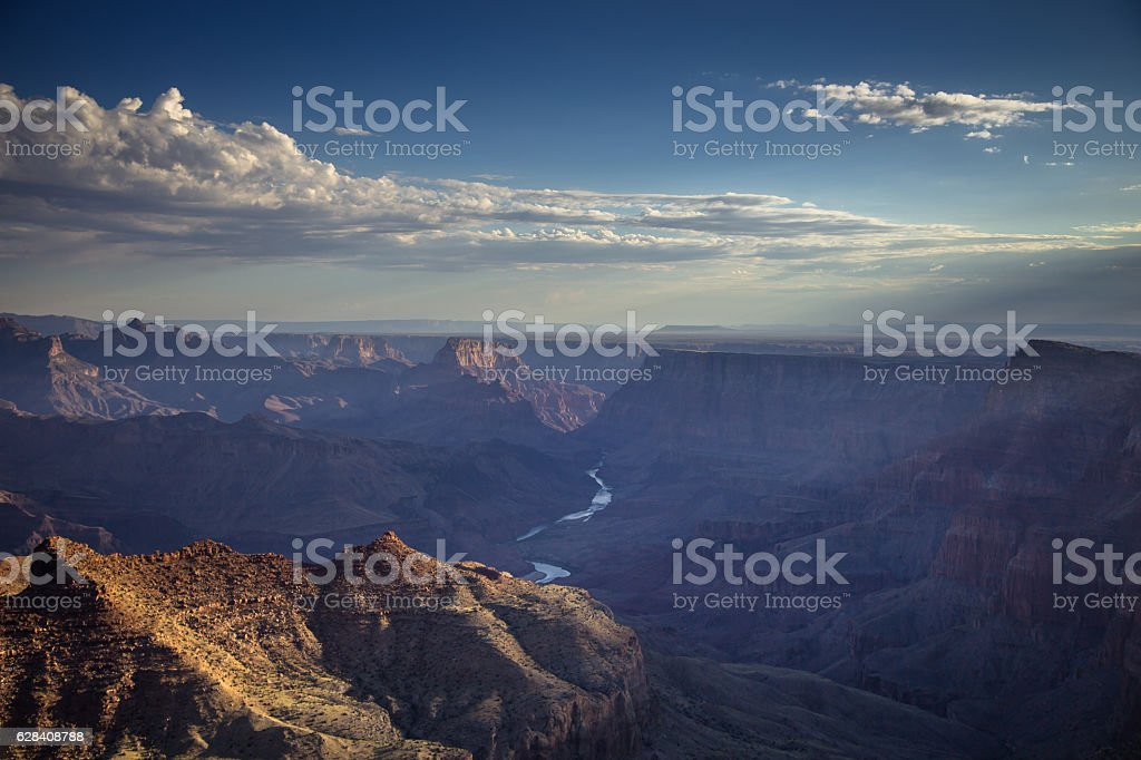 Beautiful Grand Canyon Morning stock photo