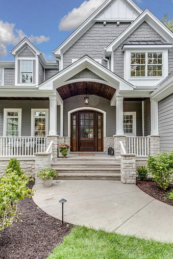 Lots of angles and details on new tour home in Illinois