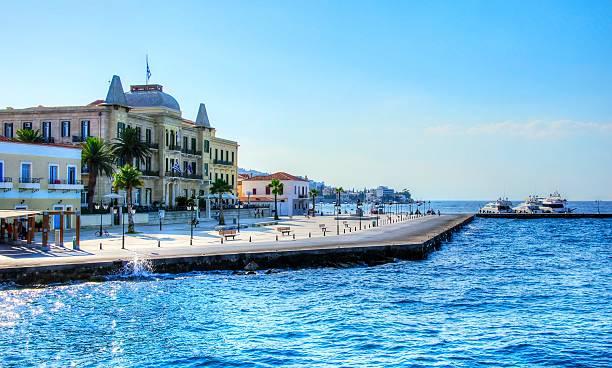 Griechischen Insel, Spetses – Foto