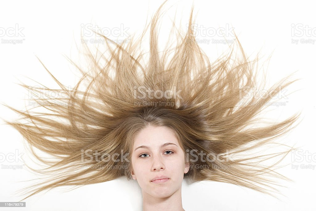 Beautiful Hair royalty-free stock photo