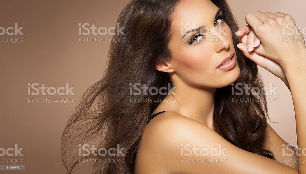 Beautiful Hair stock photo