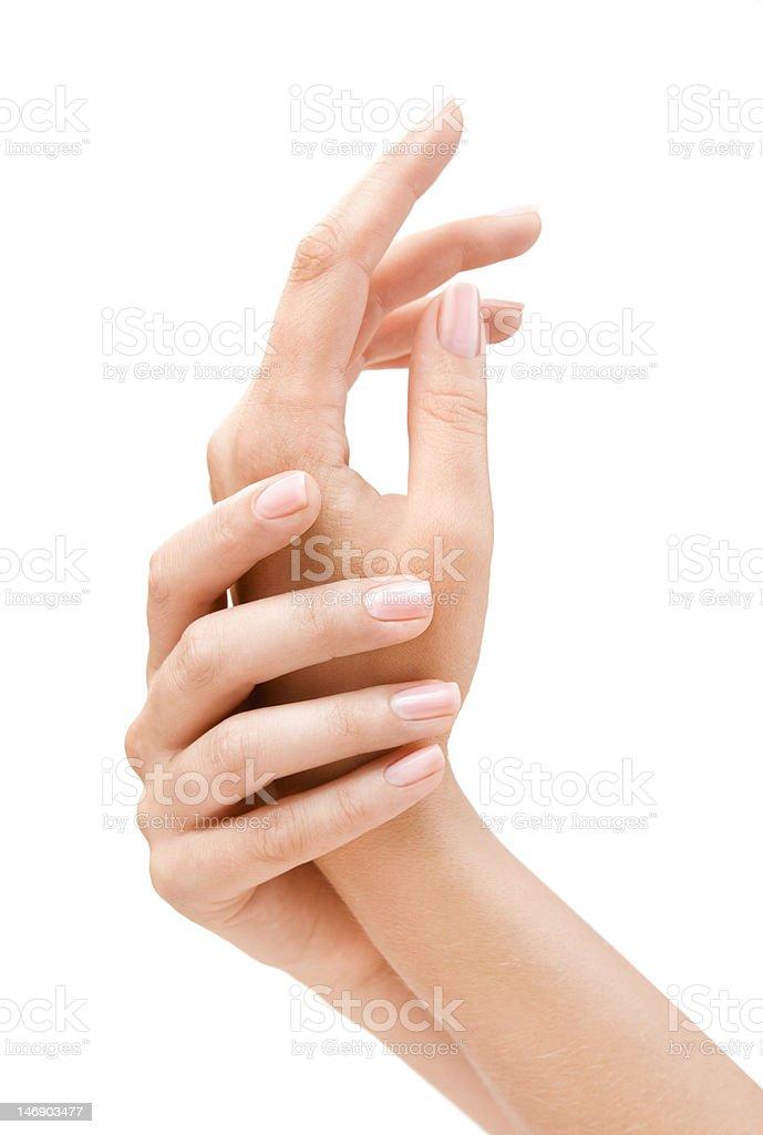 Beautiful Hands royalty-free stock photo